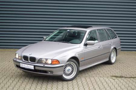 BMW 540i Touring Aspensilber