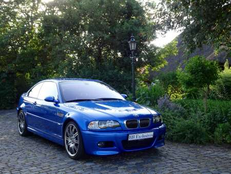 BMW M3 Coupe Estoril Blauw