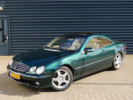 Mercedes CL500 C215 Facelift